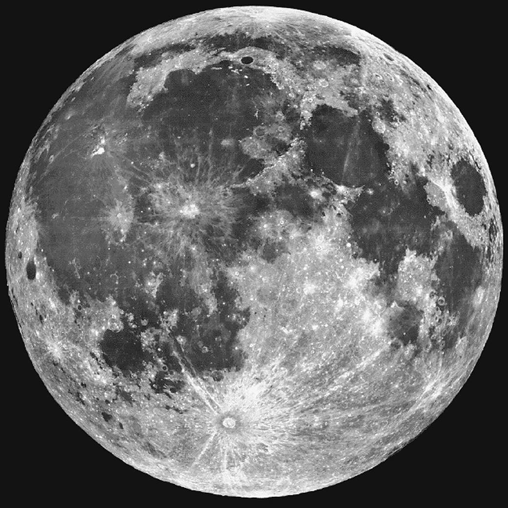 La NASA ha confirmadoi que hay agua en la Luna. (Foto: NASA)