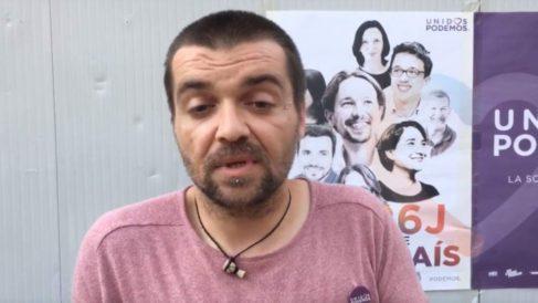 El director General de Derechos Animales, Sergio García.