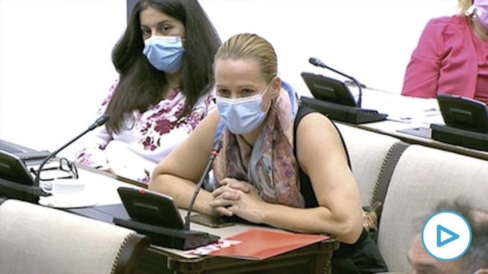 La diputada socialista Zaida Cantera se niega a retirar sus insultos a dos parlamentarias de Vox.