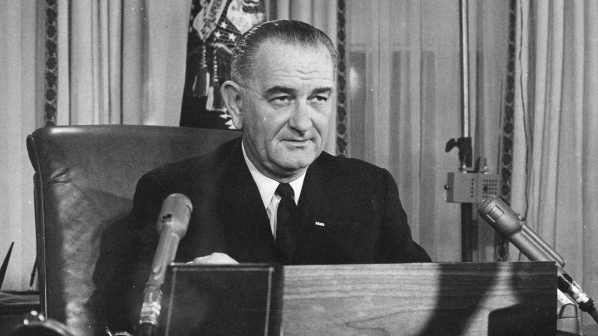 El 3 noviembre de 1964 Lyndon B Johnson fue elegido presidente de Estados Unidos