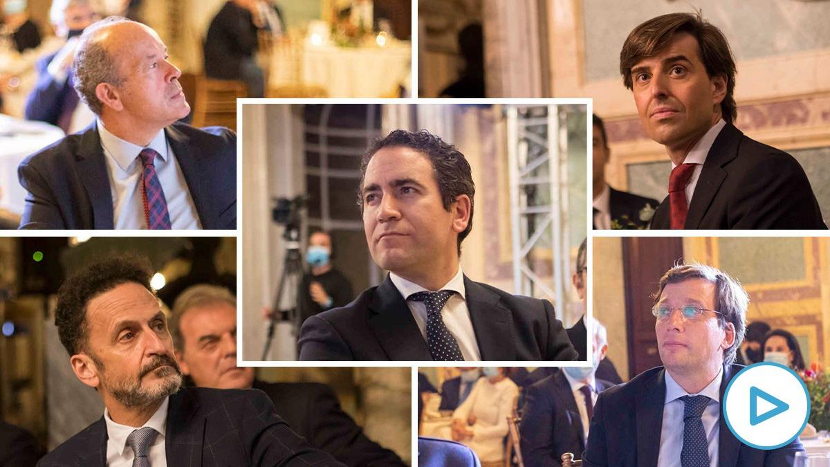 Los dirigentes políticos que no llevaron mascarilla en la fiesta de 'El Español'.