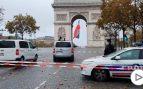 arco del triunfo terrorista