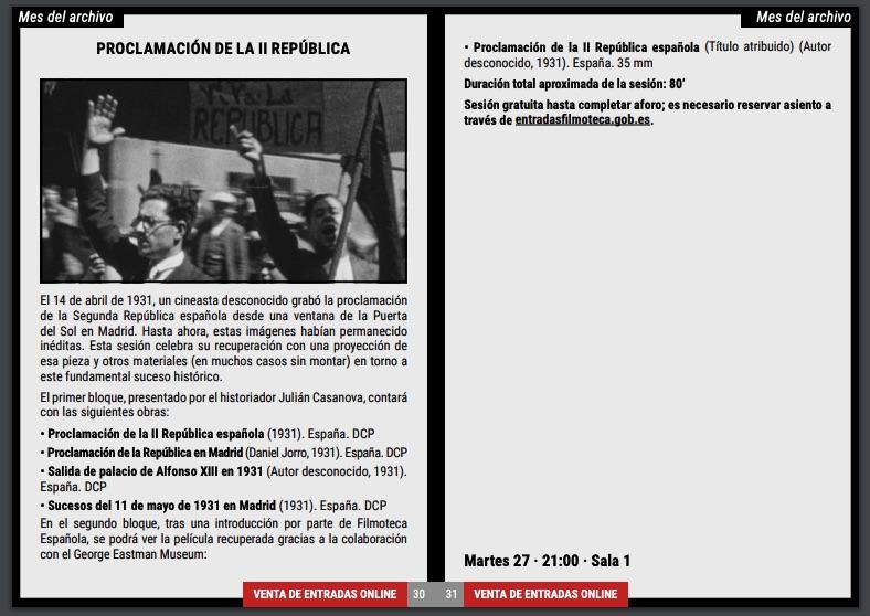 El Ministerio de Cultura rinde homenaje a la República en pleno cuestionamiento de Podemos al Rey
