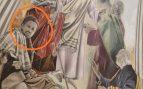 El cura de Valdepeñas famoso en Twitter se convierte en protagonista de uno de los frescos de su Parroquia