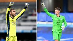 De Gea y Kepa lideran la lista de porteros mejor pagados en la Premier League (Getty)