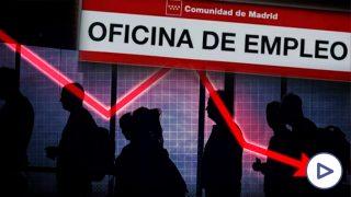 El desempleo no es el único problema en el mercado laboral español, sino también la inactividad.