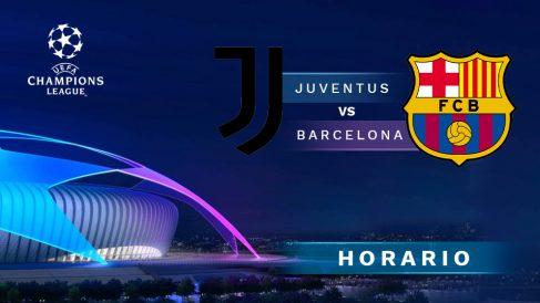 Juventus-Barcelona: hora y dónde ver por TV en directo el partido de Champions League.