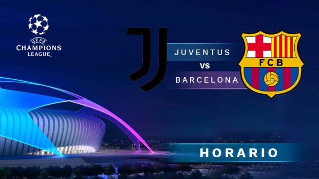 Horario Juventus Barcelona