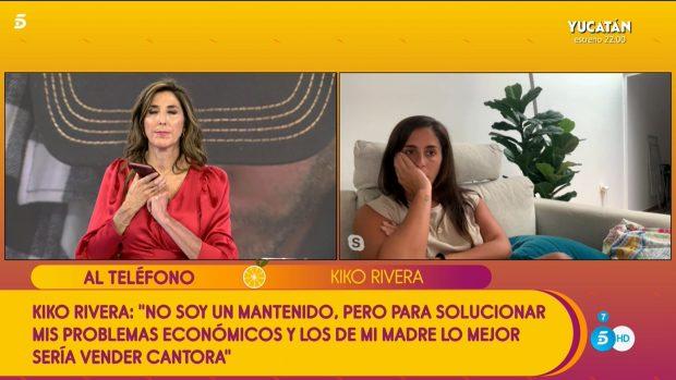 Kiko Rivera explota en Sálvame 2