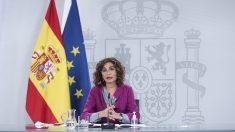 La ministra portavoz y de Hacienda, María Jesús Montero. Foto: EP