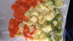 Receta para conservar un aliño de verduras crudas para la semana (1)