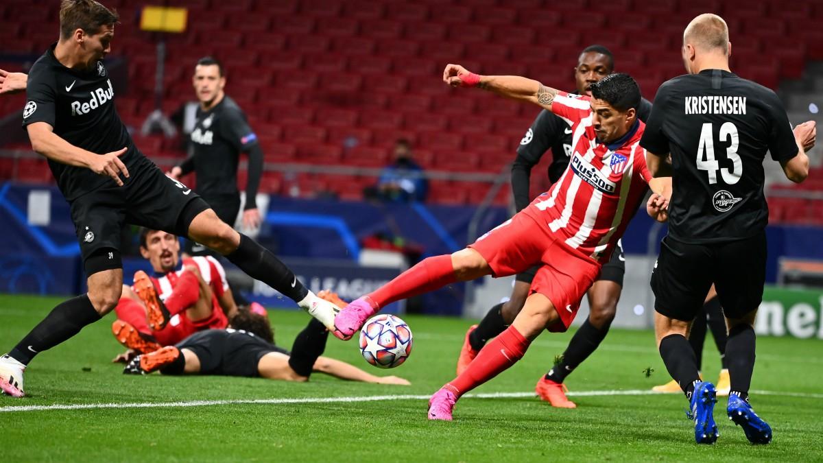Atlético de Madrid – Salzburgo: partido de Champions en directo.