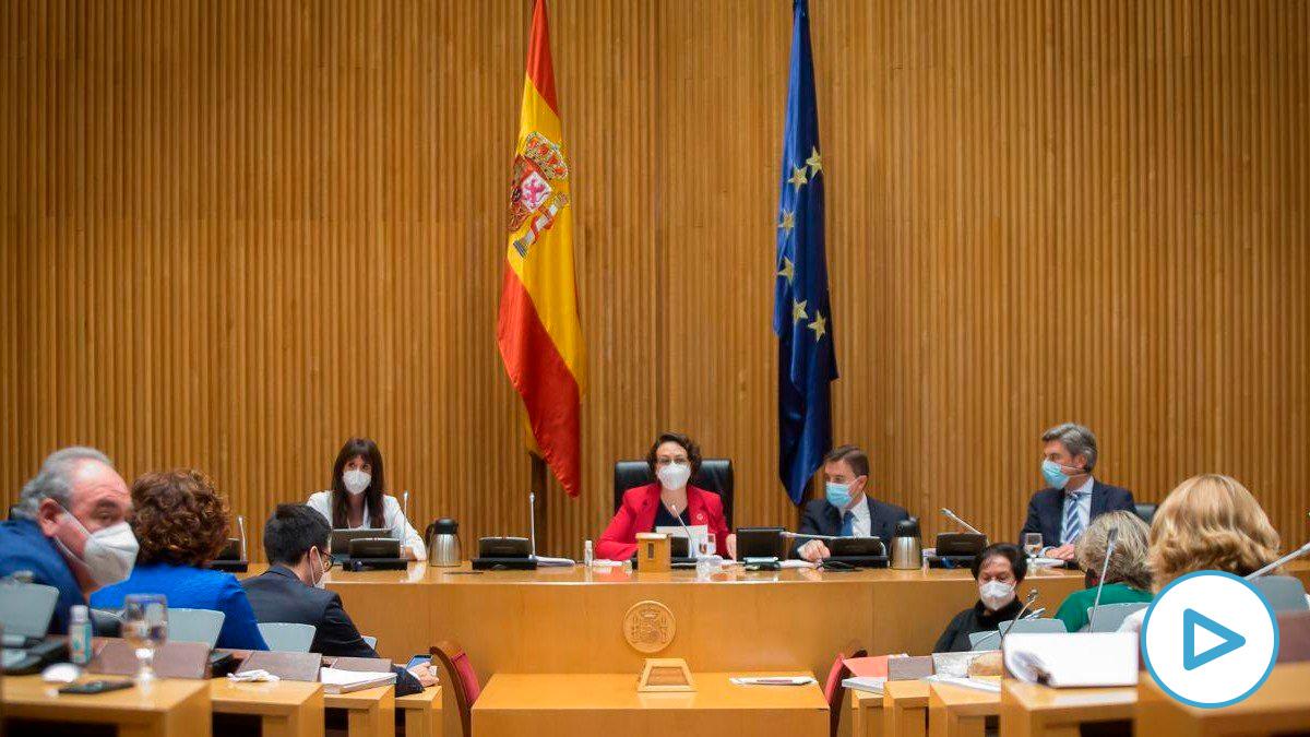 La Comisión del Pacto de Toledo. Foto: Europa Press.