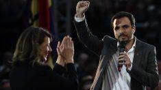 Alberto Garzón, ministro de Consumo, prohíbe la publicidad de las casas de apuestas. (AFP)