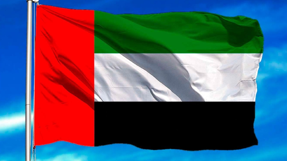 Bandera de Emiratos Árabes