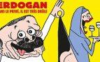 Turquía condena la caricatura francesa de Erdogan