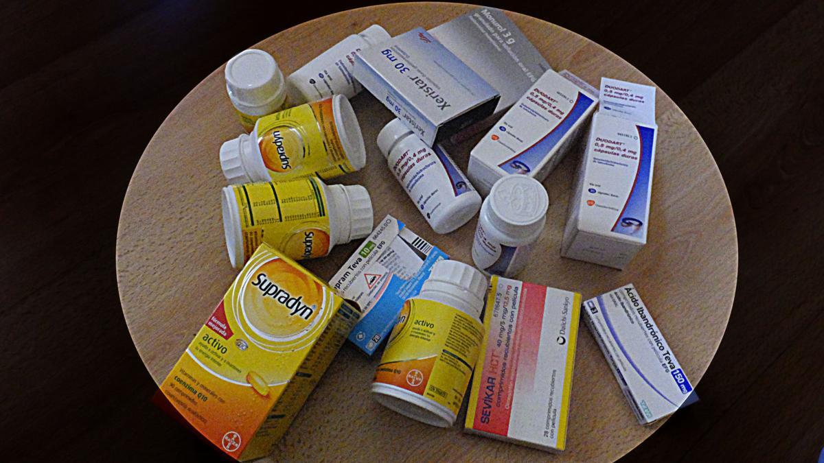 Cómo organizar nuestros medicamentos