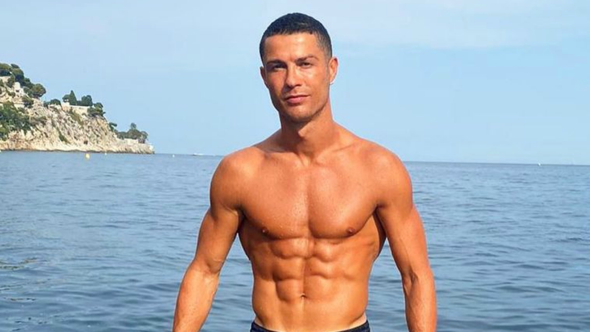 Cristiano Ronaldo, en verano.