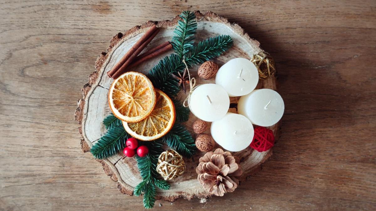 Los cítricos aportan buenos aromas a las velas
