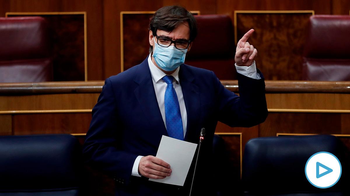 Salvador Illa en el Congreso