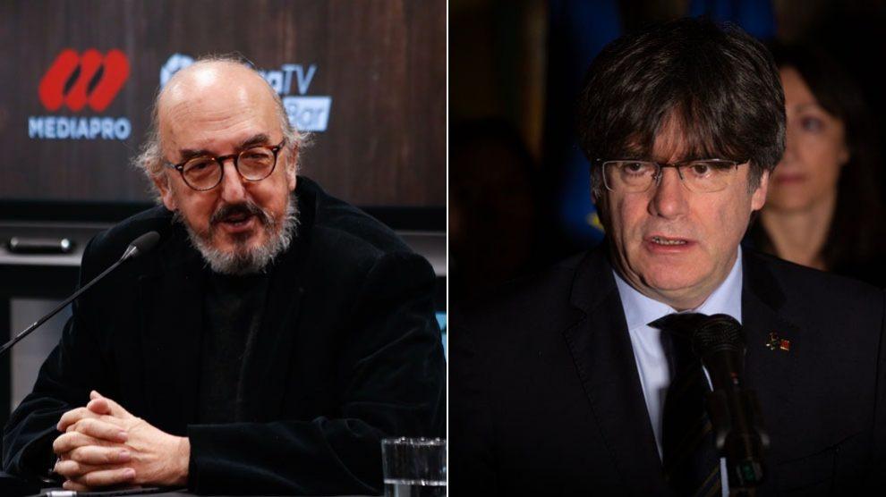 Jaume Roures y Carles Puigdemont