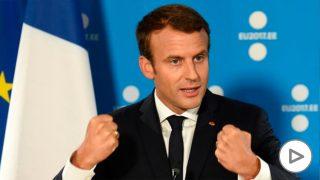 El presidente francés Emmanuel Macron. (AFP)