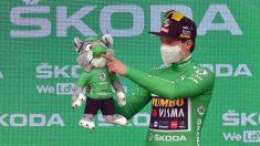 Primoz Roglic ha recuperado sensaciones. (AFP)