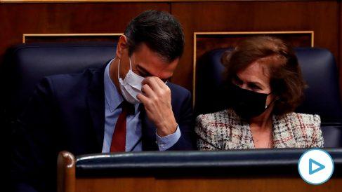 Pedro Sánchez confunde a Pablo Casado consigo mismo: «Gracias señor Sánchez».
