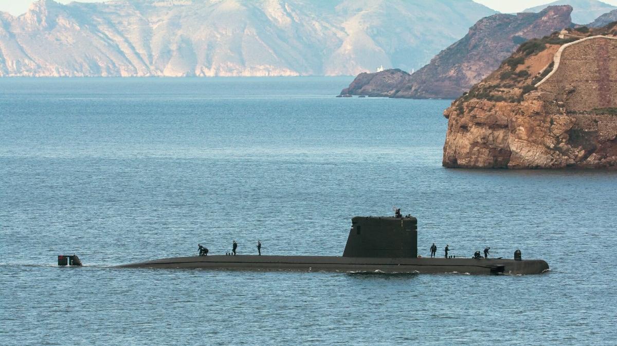 Submarino 'Tramontana' de la Armada española, uno de los dos únicos buques sumergibles que tiene en estos momentos España (Foto: Armada española).