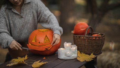 Las calabazas son todo un símbolo de Halloween