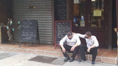 La imagen viral que reflejó la desesperación del sector de la hostelería en España.