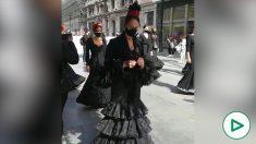 Sevilla se viste de luto por la «muerte» del flamenco