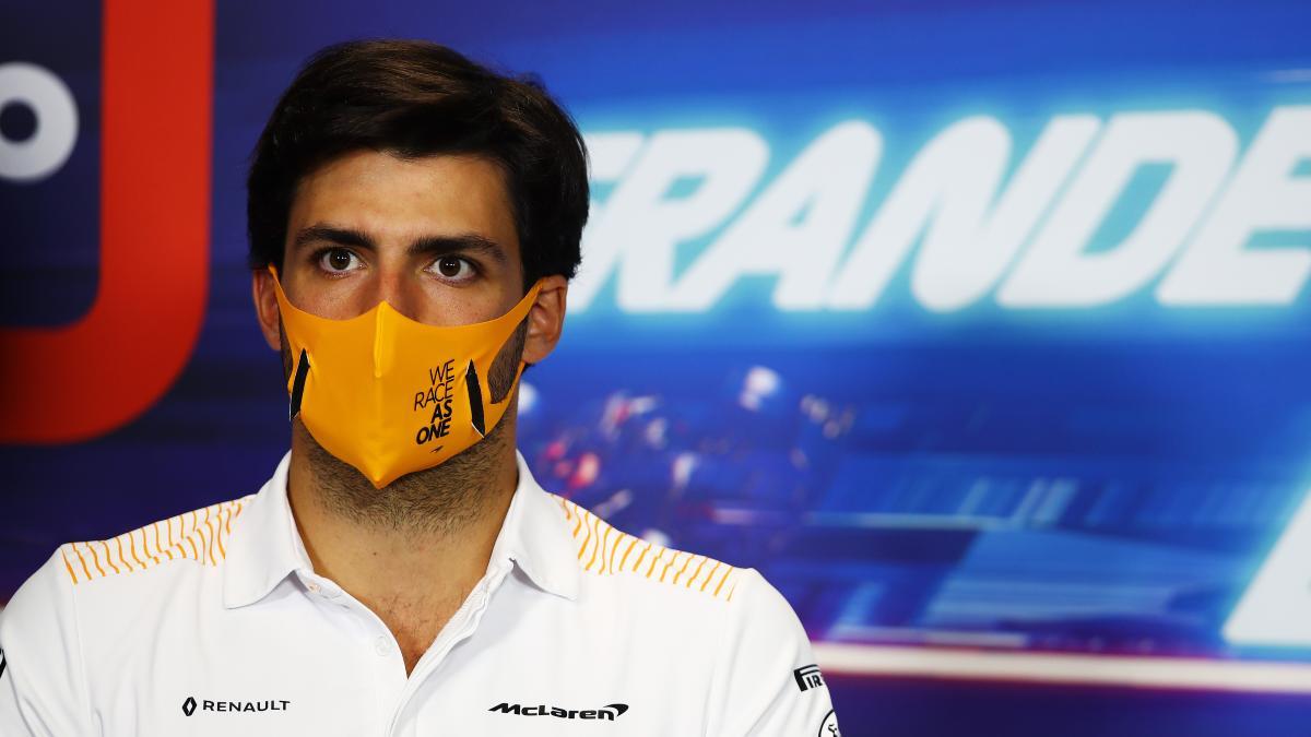 Carlos Sainz, piloto de McLaren. (AFP)