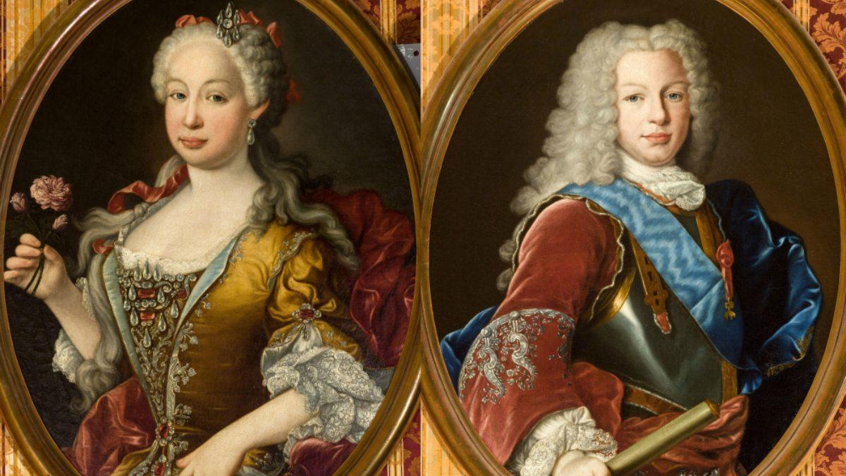Retrato de Fernando VI y su esposa, Bárbara de Braganza