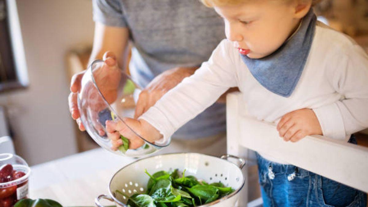 Se actualizan las cantidades recomendadas de hortalizas que pueden comer los niños