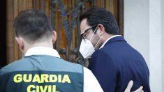 David Madí en el registro de su domicilio. Foto: Europa Press