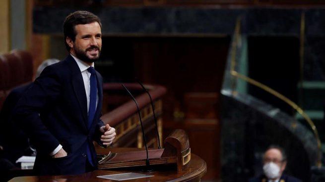 pablo casado pp congreso diputados estado de alarma