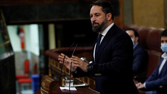 santiago abascal vox estado de alarma congreso