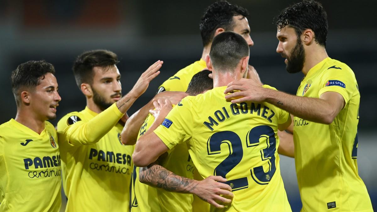 El Villarreal remontó para ganar al Qarabag. (AFP)
