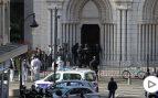 Al menos tres muertos y varios heridos en un atentado dentro de la iglesia de Notre Dame de Niza