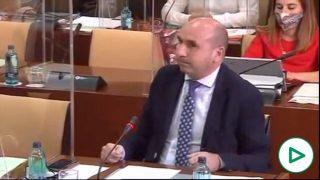 Francisco Conejo, portavoz del PSOE-A.