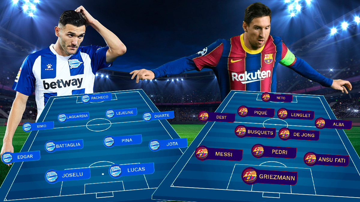 Alavés y Barcelona se enfrentan en Mendizorroza.