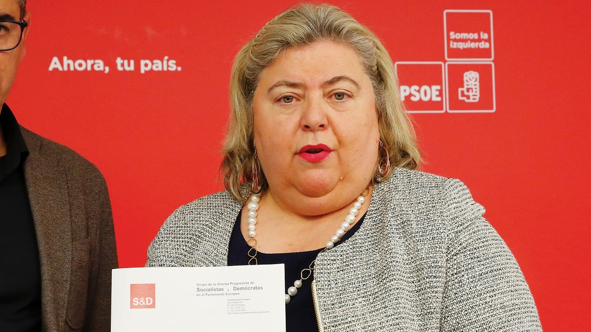 Clara Aguilera, eurodiputada del PSOE. (Foto: PSOE)