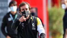 Fernando Alonso. (@RenaultF1Team)