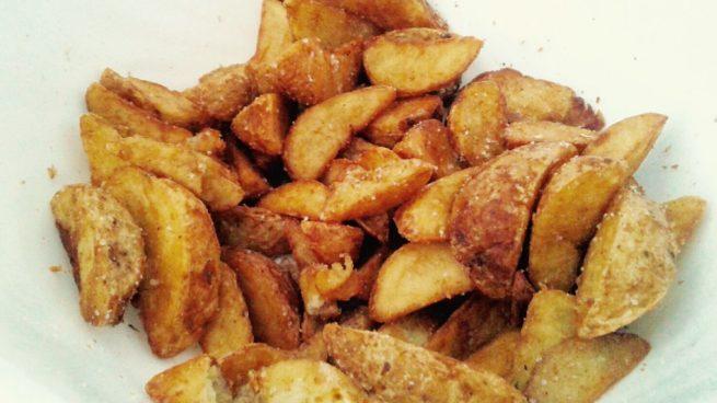 hacer las patatas deluxe del mcdonald's