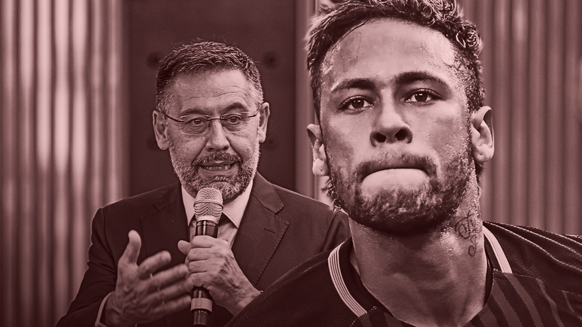 Bartomeu señala a Neymar.