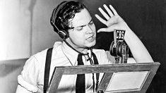 Orson Welles en 'La guerra de los mundos'