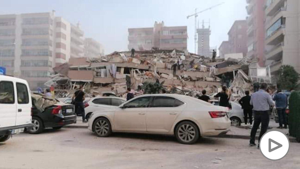 terremoto turquia video