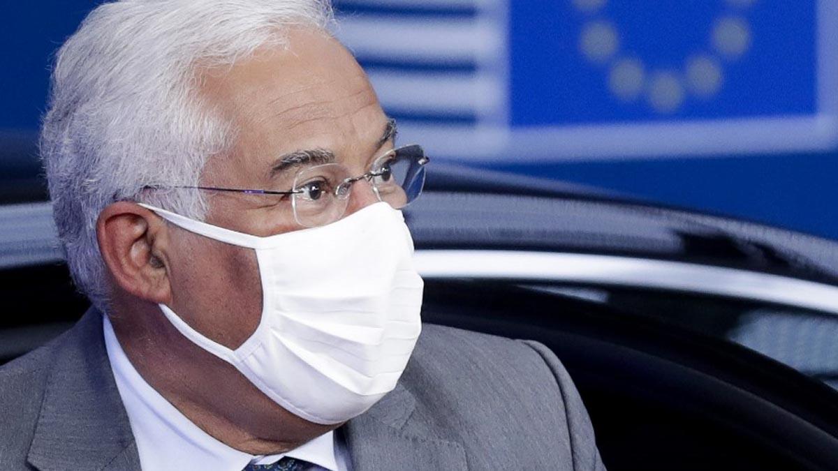 El primer ministro portugués, Antonio Costa. Foto: AFP