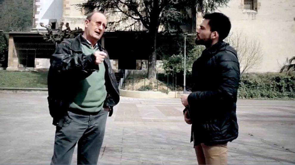 El párroco de Lemona justifica el terrorismo de ETA en el documental de Iñaki Arteta